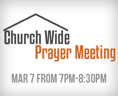 Prayer Meeting March 7