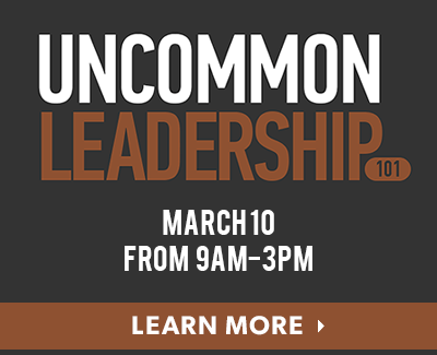 Uncommon Leadership March 10