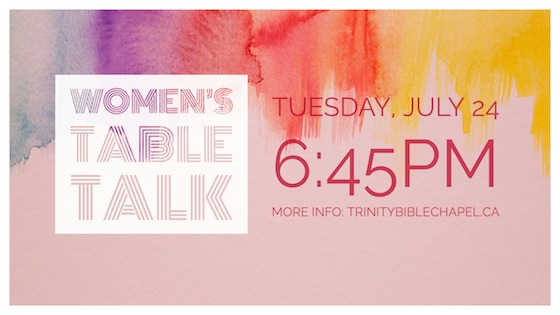 Women's TableTalk