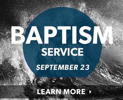 Baptism Service Sept 23