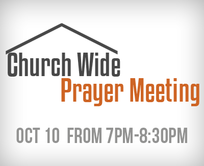 Prayer Meeting Oct 10