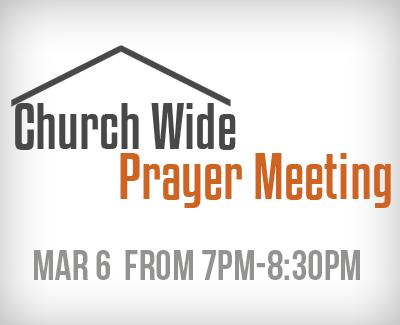 Prayer Mtg March 6