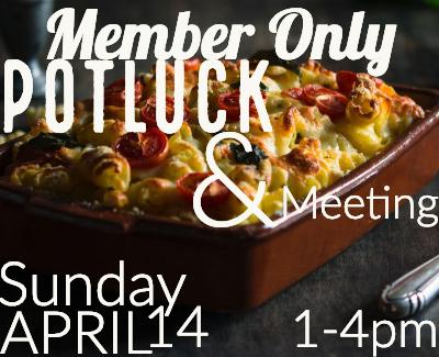 Member Only Potluck