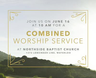 Combined Worship Service June 16