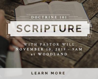 Scripture: Doctrine 101 Nov 10