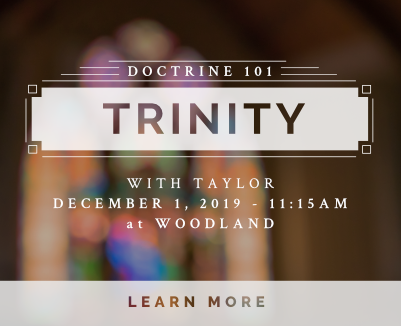 Trinity Doctrine 101 Dec 1