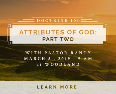 Attributes of God part #2 March 8